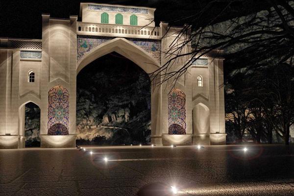 معماری دروازه قرآن شیراز