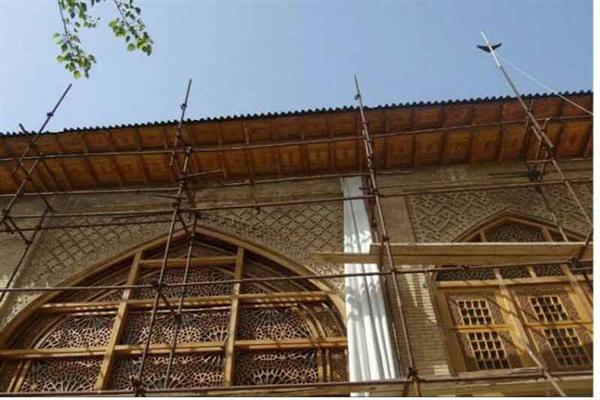 معماری-عمارت-قوام-ملکی شیراز