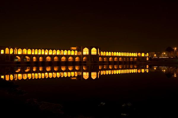 معماری-پل-خواجو اصفهان