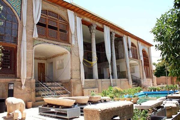 موزه-سنگ-باغ-هفت-تنان شیراز