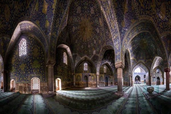 موقعیت-مسجد-امام اصفهان