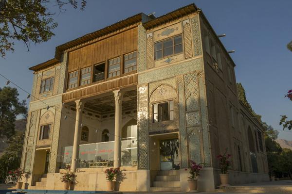 موقعیت مکانی باغ دلگشا شیراز