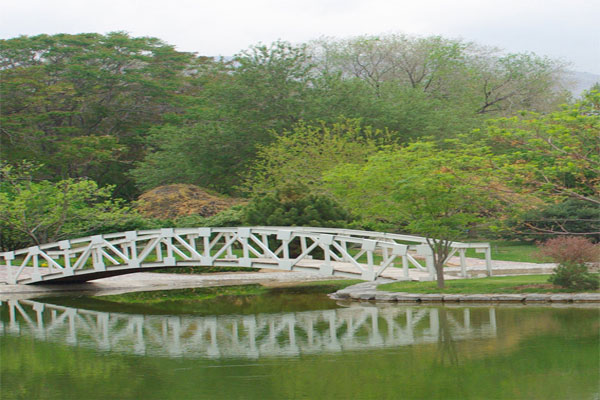 موقعیت مکانی باغ ملی گیاه شناسی ایران در تهران