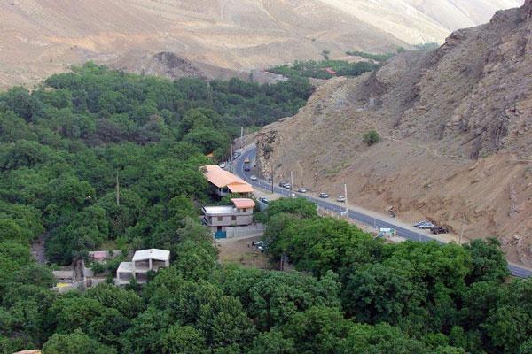 موقعیت مکانی زیارتگاه امام زاده داوود در تهران