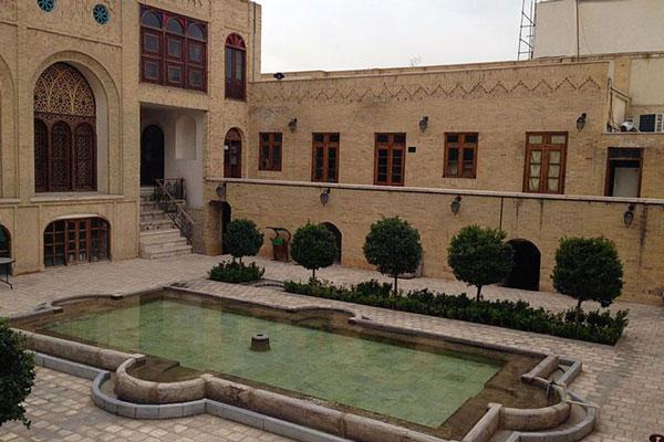 موقعیت مکانی عمارت کاظمی در تهران