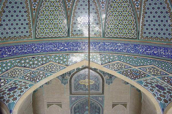 موقعیت مکانی مسجد سپهسالار در تهران