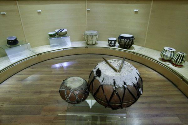 موقعیت مکانی موزه موسیقی تهران
