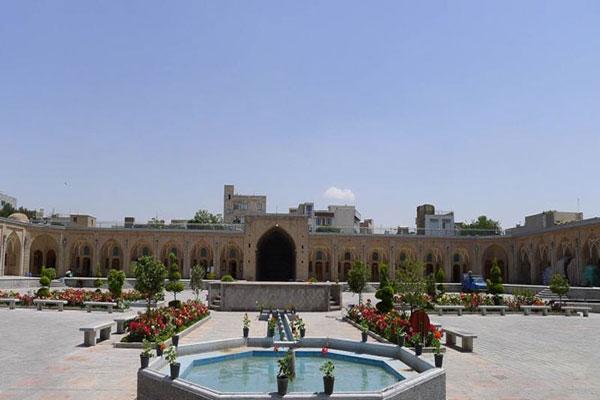 موقعیت مکانی کاروانسرای خانات تهران