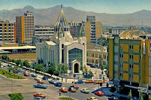 موقعیت مکانی کلیسای سرکیس مقدس در کجاست