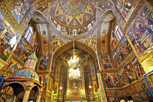 موقعیت-کلیسای-وانک اصفهان