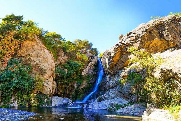 آشنایی با آبشار شلماش