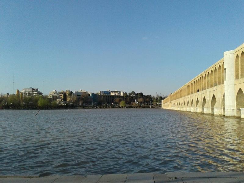 رودخانه-زاینده-رود اصفهان