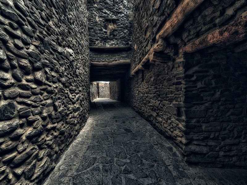 روستای سنگی سیمین ابرو
