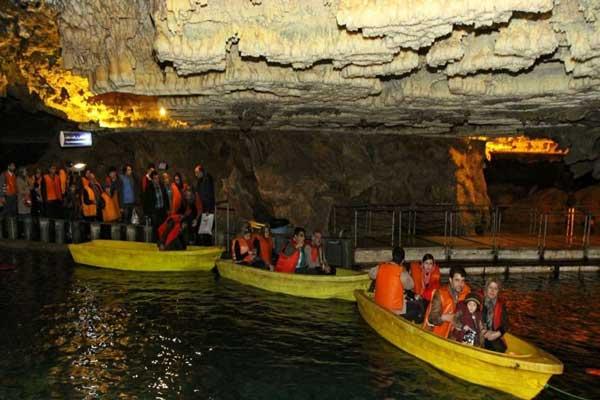 آشنایی با ساختار غار علی صدر