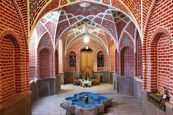 قسمت-های-مختلف-موزه-سفال تبریز