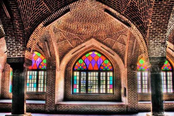 معماری مسجد جامع تبریز