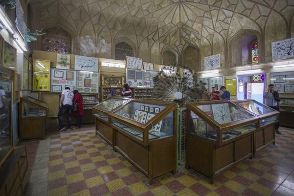 معماری-موزه-تاریخ-طبیعی اصفهان