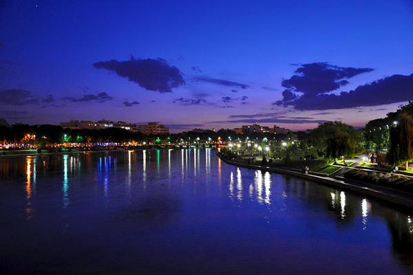 موقعیت-رودخانه-زاینده-رود اصفهان