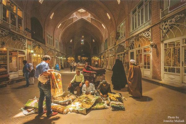 موقعیت-مکانی-بازار-قدیمی تبریز
