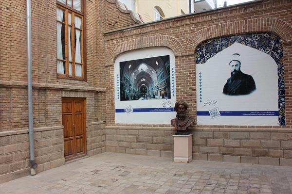 موقعیت-مکانی-خانه-پروین-اعتصامی تبریز
