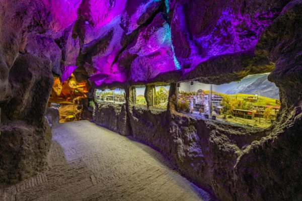 آشنایی با موقعیت مکانی غار آکواریوم گنجنامه