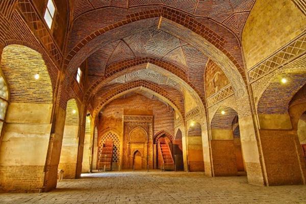 موقعیت-مکانی-مسجد-جامع-عتیق اصفهان