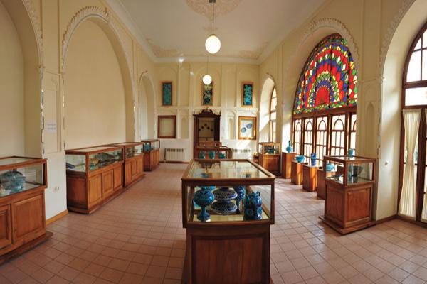 موقعیت-مکانی-موزه-سفال تبریز