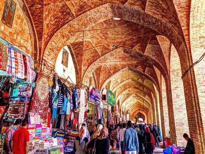 بازار سنتی طولانی ترین بازار ایران