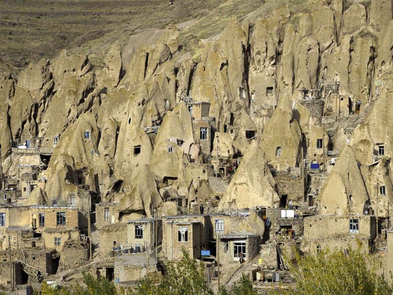 کندوان روستایی به شکل کندو