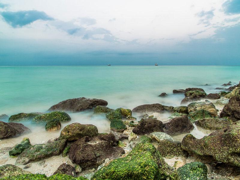 سواحل زیبای جزیره