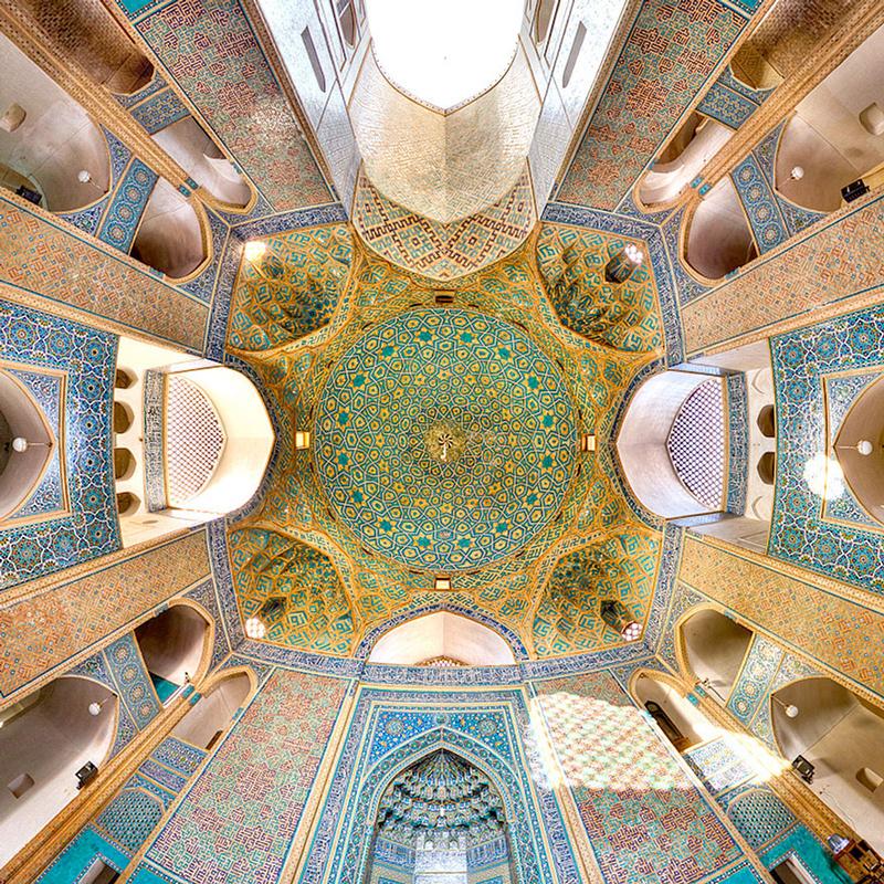 آشنایی با مسجد جامع یزد ؛ نمونه ای عالی از معماری اسلامی