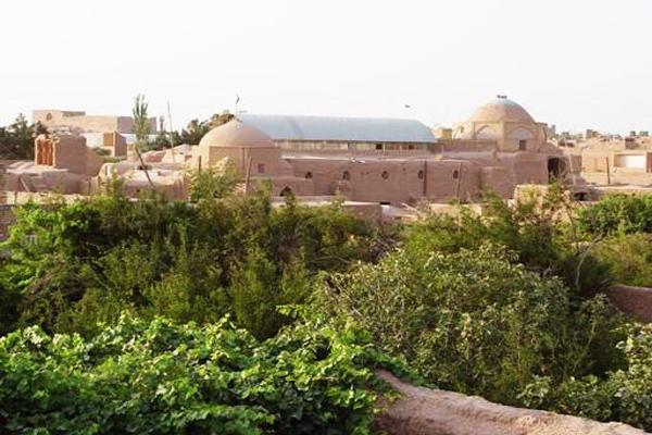 معرفی مسجد جامع میبد