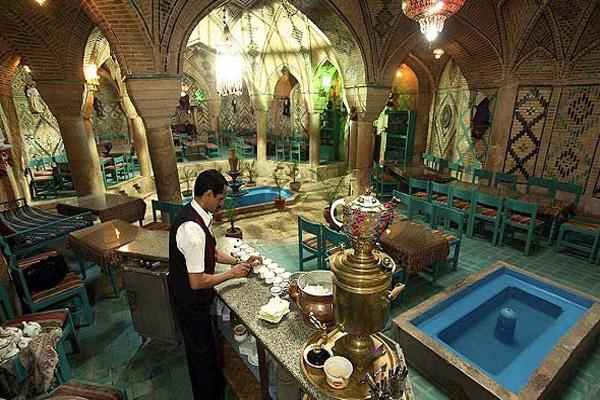 معماری-حمام-وکیل کرمان