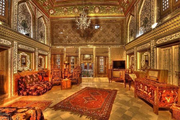 معماری خانه ملک التجار یزد
