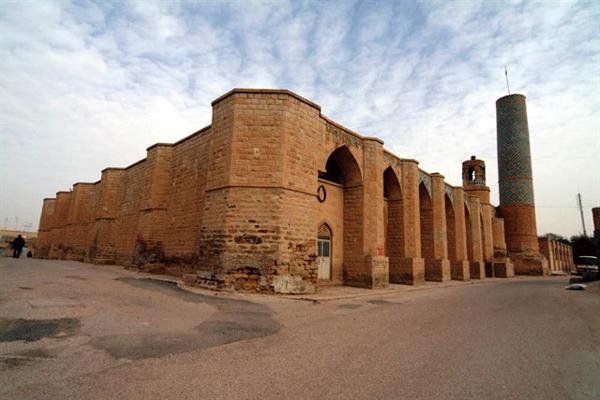 آَشنایی با معماری مسجد جامع فهرج