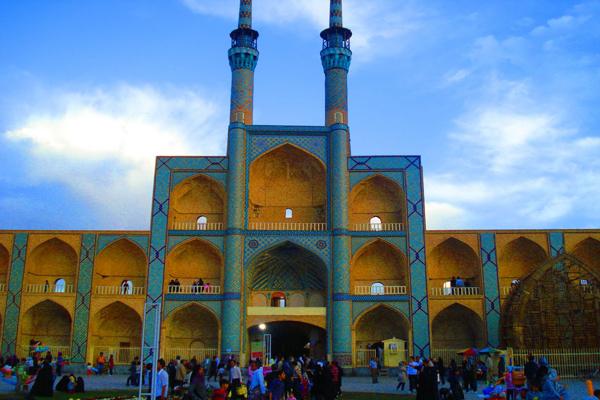 آشنایی با مناره های مسجد جامع
