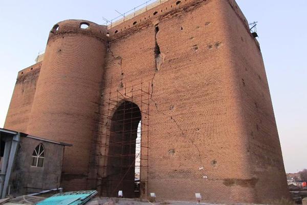 موقعیت-مکانی-ارگ-علیشاه تبریز
