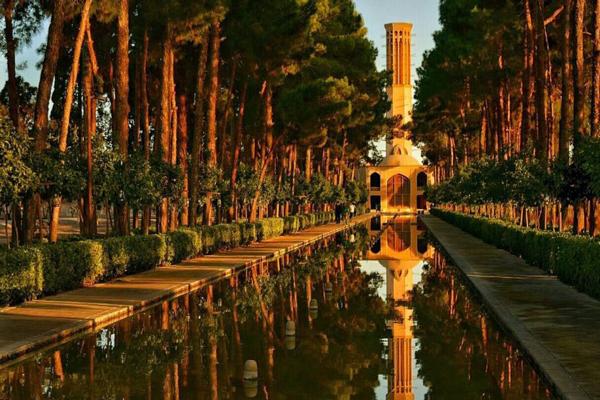 آَنایی با موقعیت مکانی باغ دولت آباد
