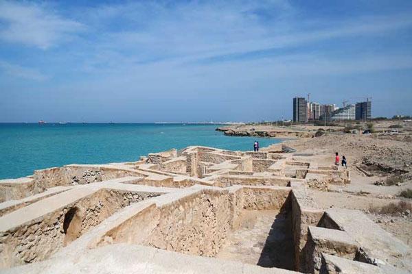 معرفی موقعیت مکانی شهر باستانی حریره