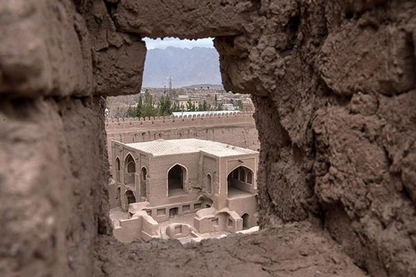 موقعیت-مکانی-قلعه-راین کرمان