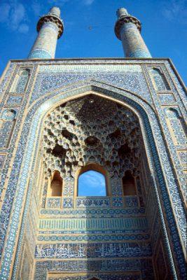 آشنایی با موقعیت مکانی مسجد جامع یزد