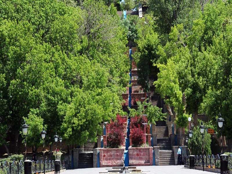 پارک ائل گلی نماد سرسبزی و زیبایی