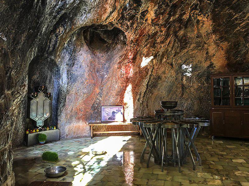 چَک چَک نیایشگاه رمزآلود زرتشتیان