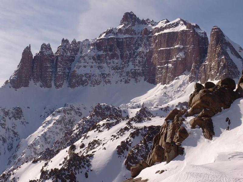 آشنایی با کوه برفخانه ؛ یک تصویر زیبا از کوه برفی