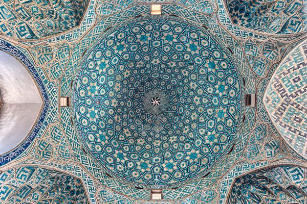 آشنایی با گنبد مسجد جامع