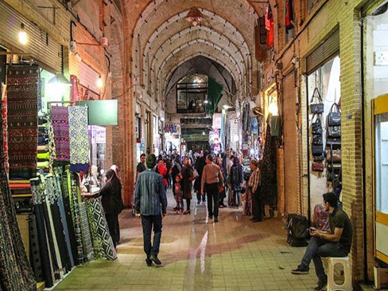بازار-تاریخیی-کاشان