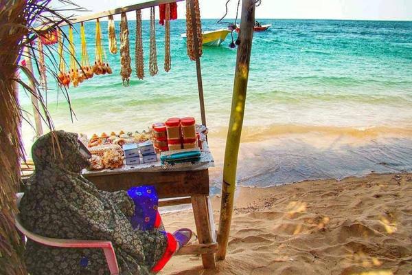 بازار-جزیره-هنگام قشم
