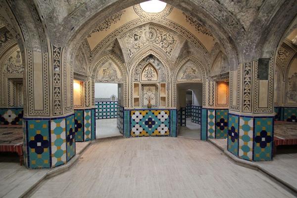 تاریخچه-حمام-سلطان-امیر-احمد کاشان