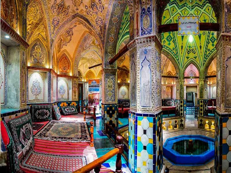 حمام تاریخی و دیدنی سلطان امیر احمد