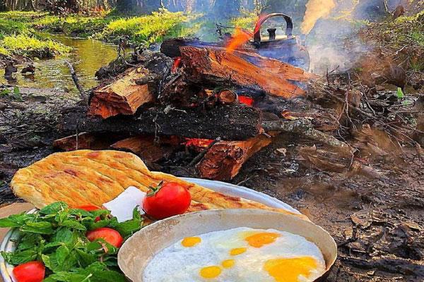 معرفی رستوران های نزدیک به جنگل گیسوم